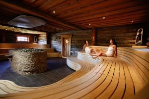 Sauna met overnachting