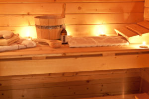 Sauna arrangement