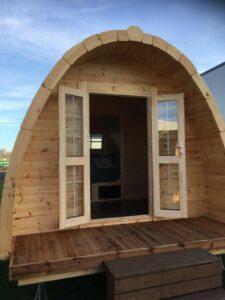 Camping pods Kampeerhoeve Bussloo